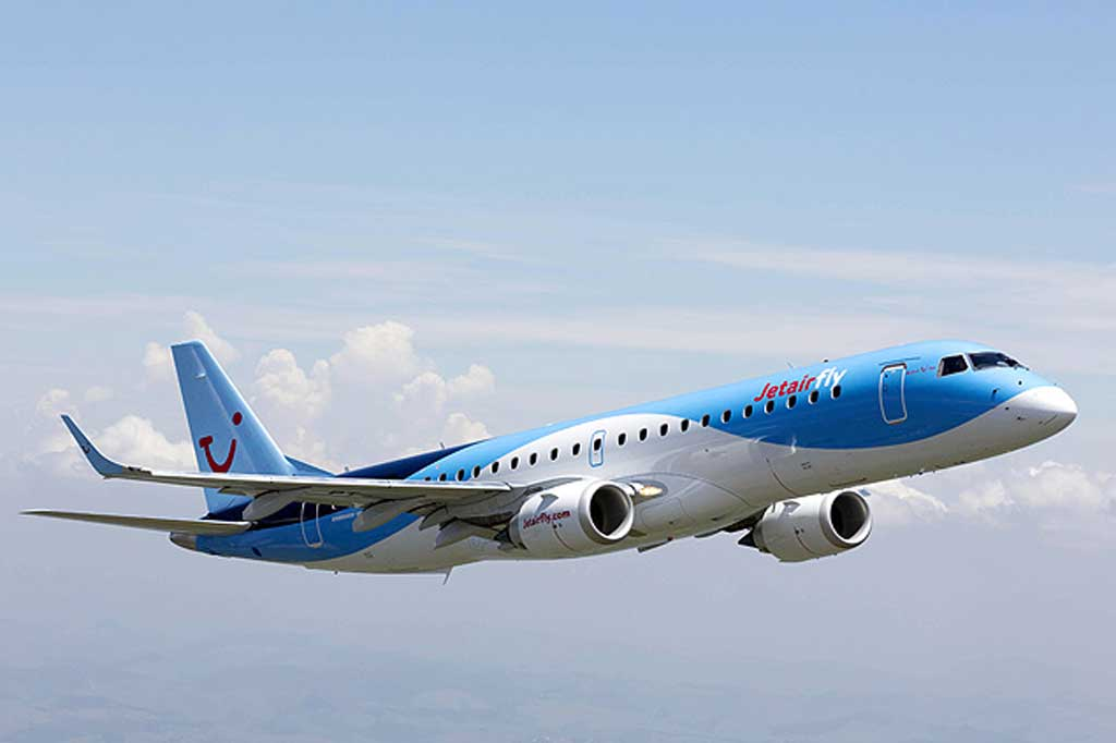 Hebei airlines, da China, expande frota com mais cinco Embraer 190